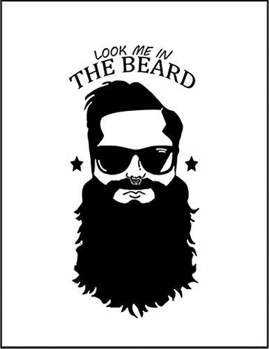 【髭をはやした俺を見てくれ】 余白部分にオリジナルメッセージお入れします!ポストカード・はがき(白背景)