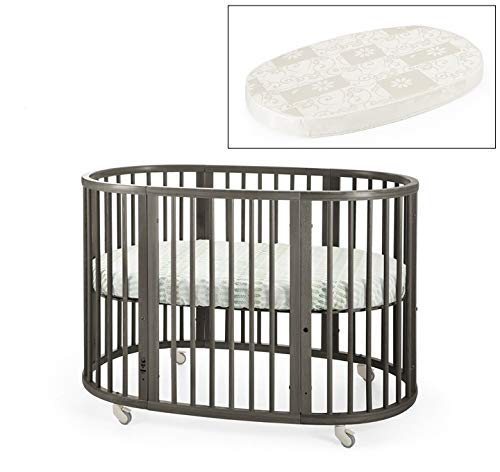 Find Discount Stokke Sleepi Crib Bundle & Matress, Hazy Grey