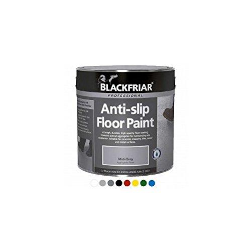 Blackfriar Anti-Slip Floor Paint for Indoor or Outdoor Use 5 Litres Light Grey