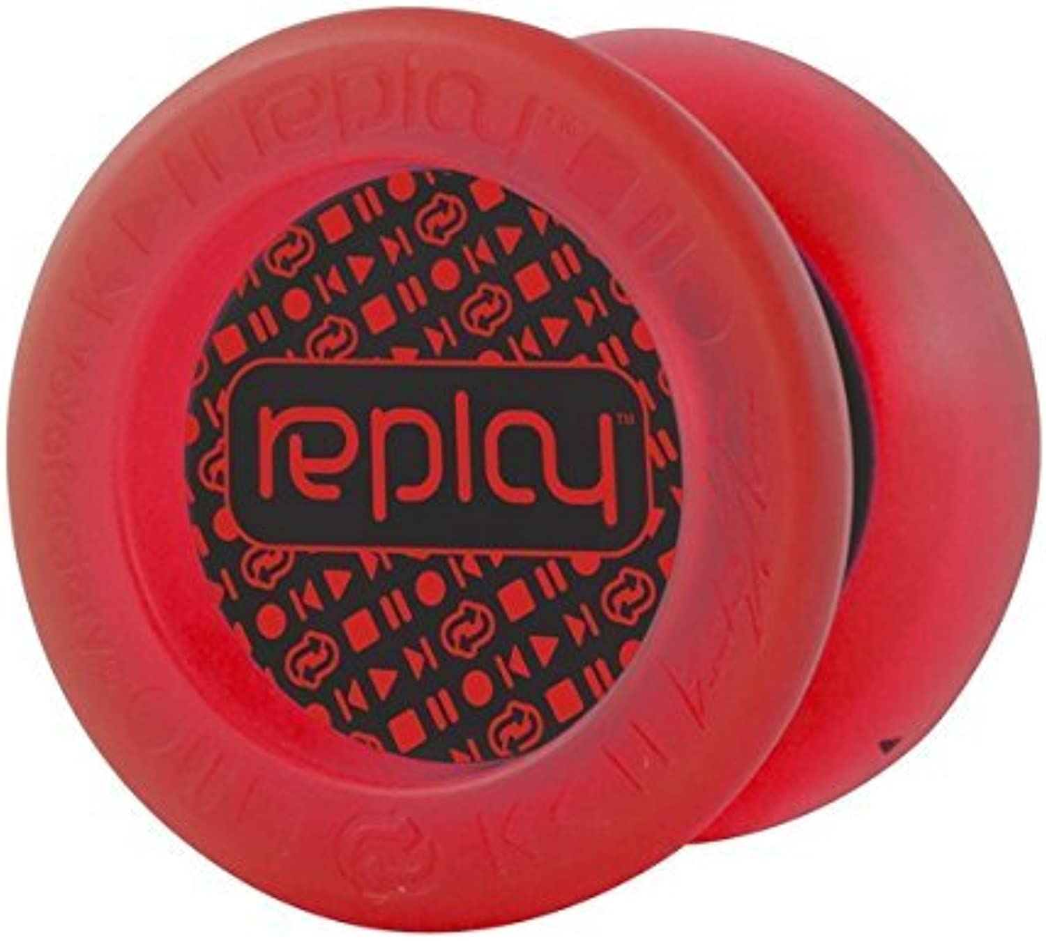 Replay Red Responsive Yo Yo Beginner Type Gentry Stein Edition From The YOYOFACTORY
