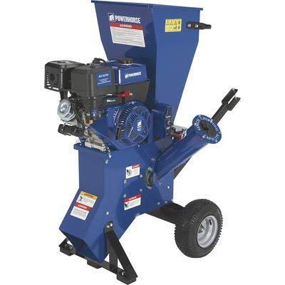 Powerhorse Chipper Shredder - 420cc OHV Engine, 4in. Chipping Capacity