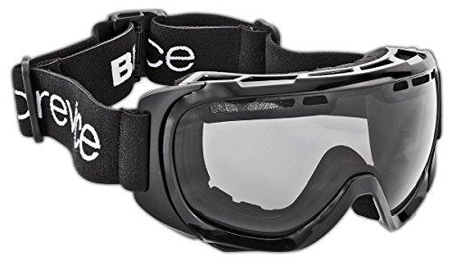 Black Crevice Erwachsenen Skibrille mit Doppelscheibe, schwarz/Silver, BCR041267-2