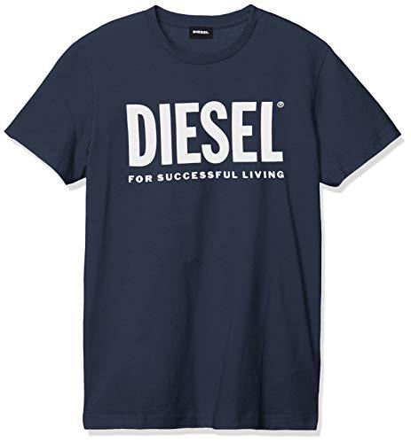 Diesel 00SXED 0AAXJ T-Diego-Logo T-Shirt Herren Dark Navy XL