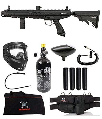 Maddog Tippmann Stormer Tactical Specialist HPA Paintball Gun Marker Starter Package - Black