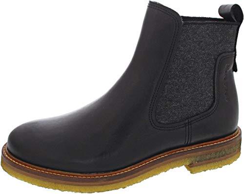 Marc O'Polo Damen 00815375002133 Chelsea-Stiefel, 990 Black,41 EU