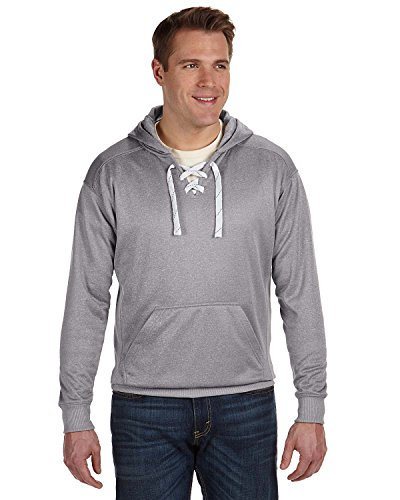 J. America Sport Lace Poly Fleece Hood