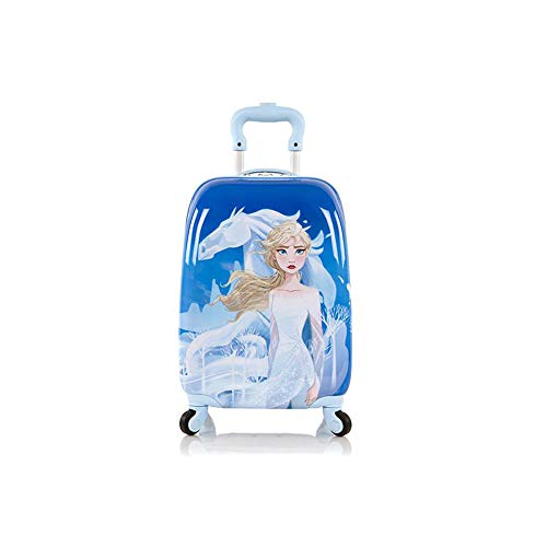 Disney Frozen II Hardside Spinner Rolling Luggage for Kids - 18 Inch