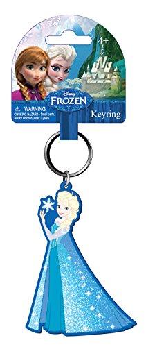 Disney Frozen Queen ELSA PVC Soft Touch Keyring