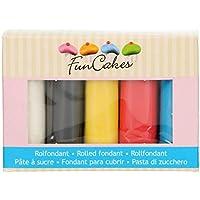 FunCakes Fondant Multipack Palette 5x100g (Primarios)