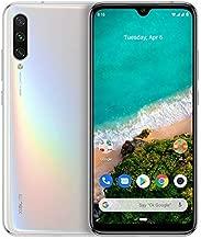 "Xiaomi Mi A3 Smartphone, 4GB RAM 64GB ROM Mobilephone, Pantalla AMOLED de 6,088"",Procesador Qualcomm Snapdragon 665 AIE,Triple cámara con IA (48 MP+8MP+32MP) versión Global (Blanco Puro)"