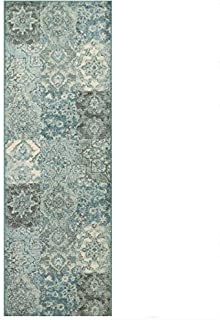 better homes and gardens distressed patchwork area rug