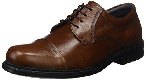 Fluchos Simon, Zapatos Cordones Derby Hombre, Marrón