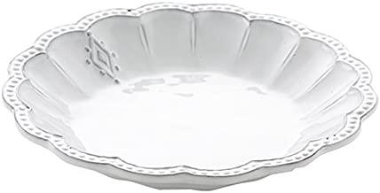 Arte Italica Bella Bianca Medallion Pasta/Soup Bowl, White
