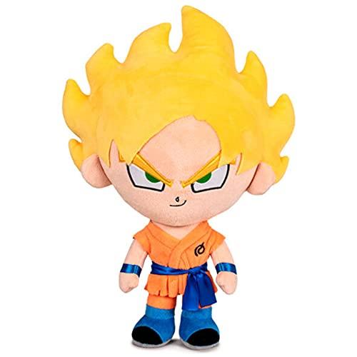 Peluche Son Goku Super Saiyan Pelo Rubio Dragon Ball 31cm