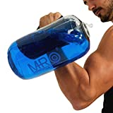 MRO Adjustable Aqua Bag, Workout Sandbag Alternative, Fitness Power Bag with Water, Core and Balance Training Weight Bag, Portable Home Gym Equipment for Full Body Workout (Cylinder -Max 9lbs)