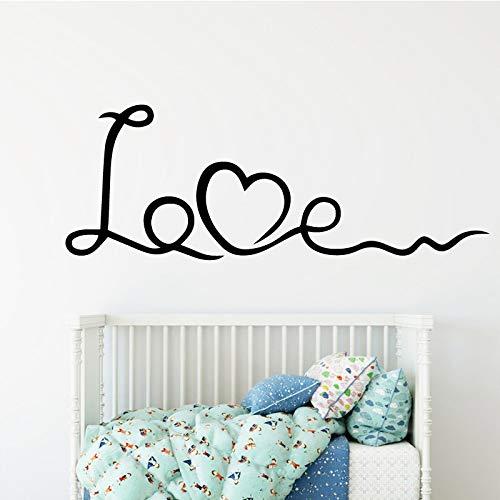 GJQFJBS Abnehmbare Kunstwandbilder für Kinderzimmer Art Deco Sticker Wandbilder Grau 30cm X 90cm