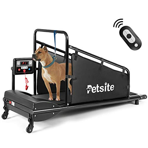 Goplus Dog Treadmill, Fitness Pet Treadmill Indoor Exercise for Dogs...
