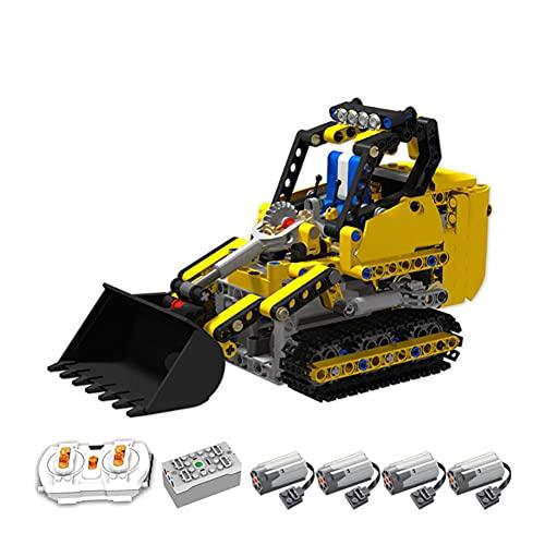 YHYL Technic RC Sport Car Bricks Modelo para Pequeñas Montacargas De Rastrero, Bloques De Construcción De Automóviles De Carreras Moc 358PCS Compatible con Lego,Electric Version