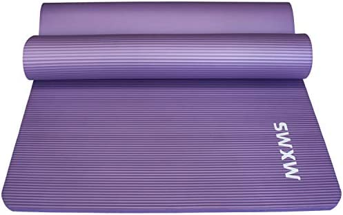 YUREN Thick Yoga Mat for Men Extra Wide Long 72 X 35 X 1 2 Exercise Mat Heavy Duty Yoga Pilates product image