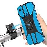 JPARR 自転車用スマホホルダー 360度回転 Android/iPhone多機種対応 落下防止 振れ止め ナビしながらロードバイクを楽しむ 防水機能 バイク オートバイ スマホ ホルダー (2019年)