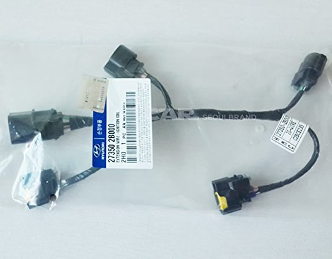 Genuine Parts -Hyundai KIA Ignition Coil Extension Wire Harness Genuine OEM 27350-2B000