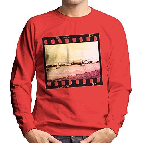 Motorsport Afbeeldingen McQueen en Avent Pass Vliegtuigen Heren Sweatshirt