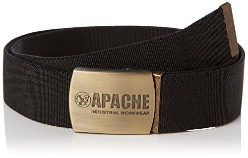 Apache - Schwarz Gewebte Belt - APABELT