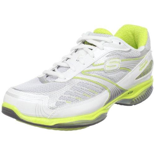 Skechers Zapatillas para mujer Shape Ups Toners Ultra Fit, blanco (Blanco/Lima), 37.5 EU