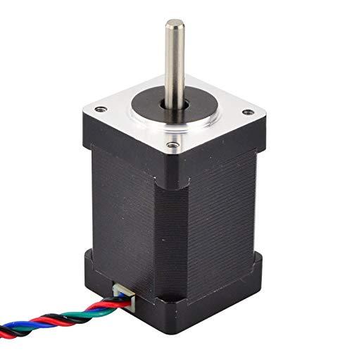WSCHENG® Torque Alto NEMA 14 Motor Paso a Paso 40NCM (56.7oz.in) 1.5A 35x35x52mm NEMA14 Stepper 4-Lead para CNC DIY Impresora 3D