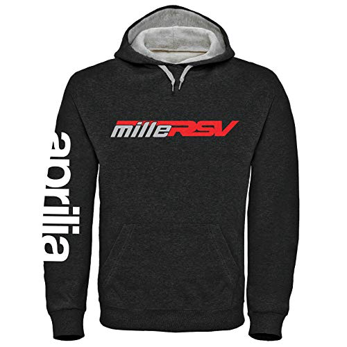 DPX-1 Aprilia Mille RSV Kapuzenpullover Sweater (S-3XL) Factory Racing RSV4 (L)