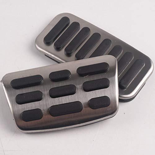 BTOEFE Cubierta de Pastillas de Pedal de Freno de Combustible de Gas AT, para Hyundai i30 IX35, para Estilo de Coche Kia KX7 KX5