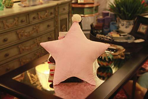Almohada de Estrella rellena de Felpa, Juguete de Felpa, Almohada Suave y Bonita, sofá Cama, cojín Kawaii, niña, 45 cm / 17,7 Pulgadas Style1