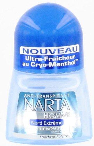"""Narta Deodorant für Herren, schweißhemmend, Modell: """"Nord Extrême"""" – 50 ml"""