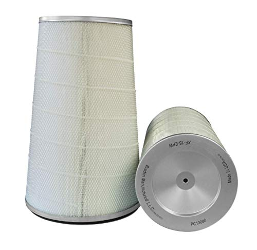 Cheapest Prices! Dust Collector Filter. Height: 26 OD: 12.75 ID: 8.375 / Cellulose Polyester Blen...