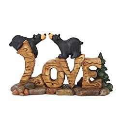 Bear Christmas Gifts Love Sculpture