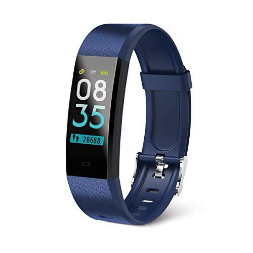 Muvit I/O Health Tensio Lite, Pulsera de Actividad y Sueño, 1, Azul