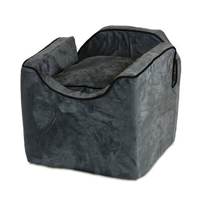 Snoozer Luxury Lookout Pet Car Seat, Medium Luxury I, Anthracite with Black
