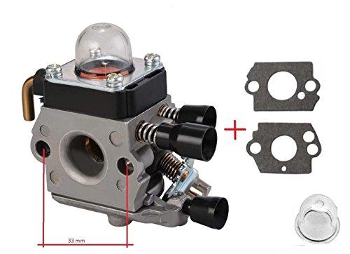 Vergaser für Stihl FS38 FS45 FS46 FS55 FS74 FS75 FS80 FS85 HL45 HL75 HS70 HS74 SET