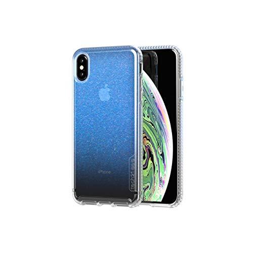 tech21 Pure Shimmer Funda Protectora para Apple iPhone XS MAX - Azul
