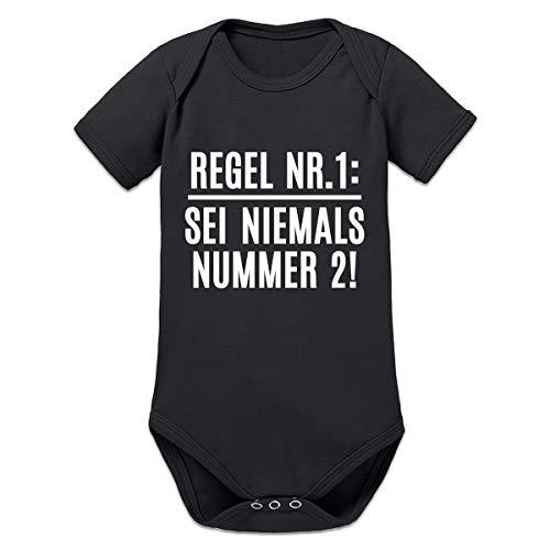 Shirtcity Regel Nr. 1: Sei Niemals Nummer 2! Baby Strampler by