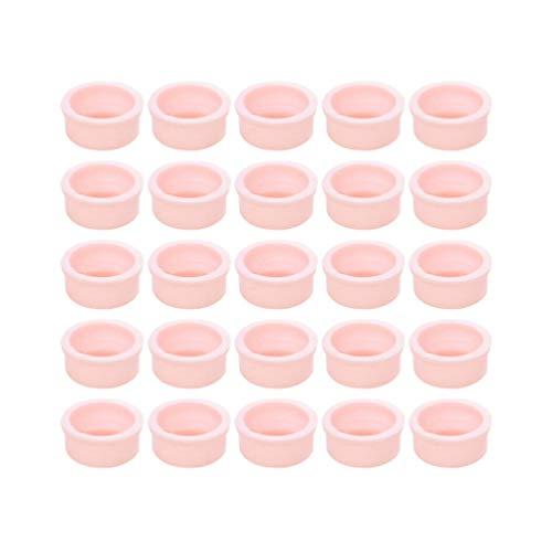 Lussore porte-colle de cils base de support dextension de cils outil de plateau de palette de faux cils porte-colle de greffage de cils et organisateur de cils