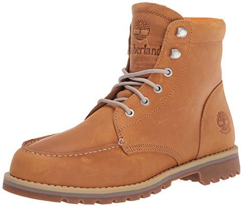 Timberland Men's Redwood Falls Moc Toe Fashion Boot, Wheat Full Grain, 8 M US