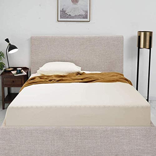 algod/ón, 60 x 120 cm, 2 unidades S/ábana bajera para cuna color blanco Dudu N Girlie