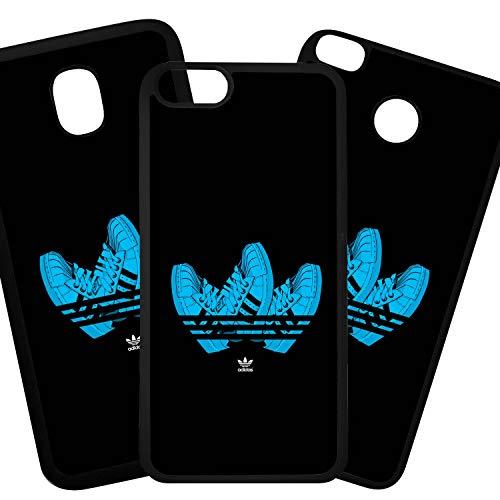 Tuscaprichosonline Fundas De Moviles Carcasas De Moviles Funda Carcasa Compatible con Adidas Marcas Logotipo Moda Zapatillas Azul