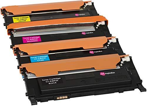 4er Set Premium Toner kompatibel für Samsung CLP-310 310N CLP-315 315W CLX-3170 3170FN CLX-3175 3175FN 3175FW 3175N CLT-K4092S 1.500 Seiten CLT-C4092S CLT-M4092S CLT-Y4092S 1.000 Seiten