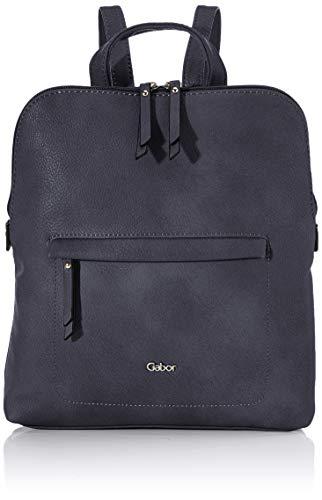 Gabor bags Rucksack Damen Mina, Blau, M, Rucksackhandtasche, Tasche Damen