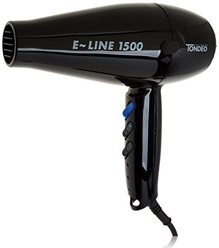 Tondeo E-Line 1500 Profi-Haartrockner, schwarz