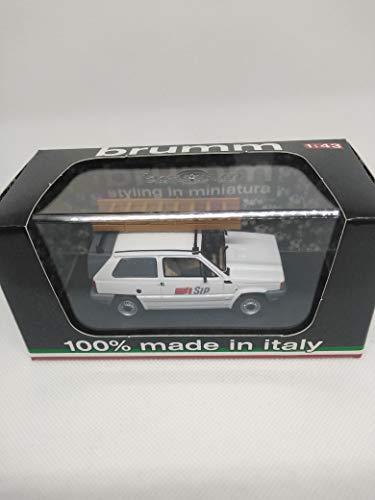 Brumm Model Compatibile con Fiat Panda FURGONETTA Sip 1982 1:43 DIECAST BM0506