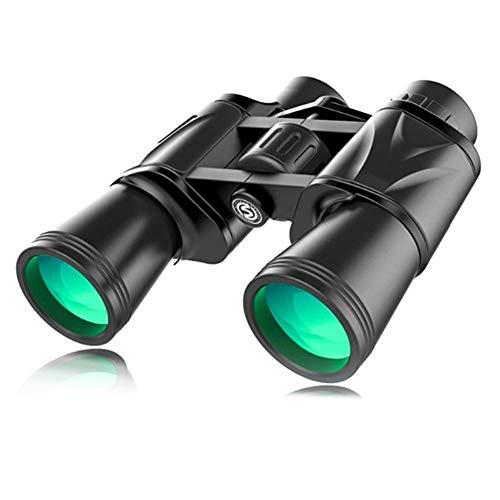 Schützks Binocolo - 7x50 Marine Military Telescope per Adulti e Bussola telemetro Interna Verde Militare Impermeabile per Navigazione, Canottaggio, Pesca, Sport Acquatici, Caccia
