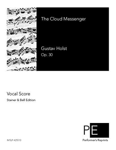 The Cloud Messenger - Vocal Score